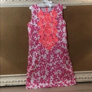 Crewcuts embroidered girls size 10 shift dress